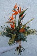 Slavnostní kytice kulatá